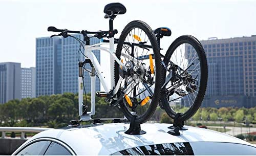 LJ-BICYCLE RACK Portabicicletas de Coche Ventosa portaequipajes de ...
