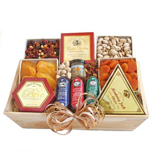 organic cheese gift basket - 8