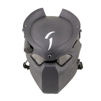 Máscara protectora para Paintball o Airsoft de Worldshopping4U, diseño de Depredador