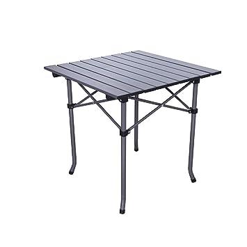 WGHYSAPT Mesa Plegable Mesa de Aluminio para el Aire Libre, Picnic ...