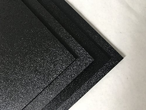 ABS Black Plastic Sheet 1/4