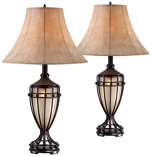 Night Light Urn Table Lamp Set of 2 ()