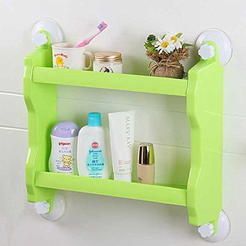 shop24hrs-plastic-wall-mounted-suction-cup-storage-rack-traceless-vacuum-kitchen-bathroom-shelf-hold
