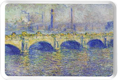 - Waterloo Bridge by Claude Monet Serving Tray