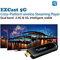 EZCast 5G Dongle WiFi Media TV Stick Dongle OTA HDMI Wireless Display Adapter Support MiraCast DLNA AirPlay For Smartphone/Tablet