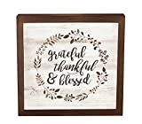 Best P Graham Dunn Friend Picture Frame With Quotes - P. Graham Dunn Grateful Thankful Blessed Laurel Wreath Review