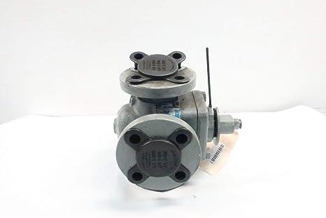 FLOWSERVE DH823 NORDSTROM 4-Way Steel FLANGED 1-1/2IN Plug