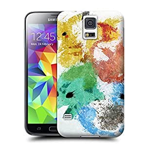 Unique Phone Case Animal painting patterns Starters Hard Cover for samsung galaxy s5 cases-buythecase