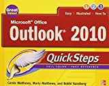 img - for Microsoft Office Outlook 2010 QuickSteps by Carole Matthews (2010-06-10) book / textbook / text book