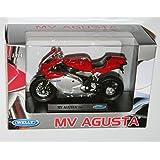 Welly - MV AGUSTA F4S Die Cast Motorbike Model Scale 1:18 by Welly