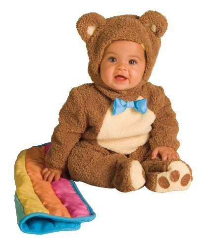 [Rubie's Costume Infant Noah Ark Collection Oatmeal Bear Jumpsuit, Brown/Beige, 18-24 Months Size: 18 - 24 Months Color: Multicoloured, Model: 885356/18-24, Toys &] (Noahs Ark Baby Bear Costume)