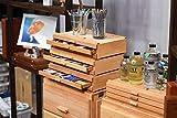 Creative Mark Pastel Storage Box, 3 Drawer Wood Art