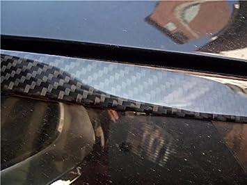 EBTOOLS Scheinwerfer Augenbrauen 2 St/ück Echt Carbon Scheinwerfer Augenbrauen Augenlid Abdeckung Trim f/ür 5er E60 E61 2003-2010