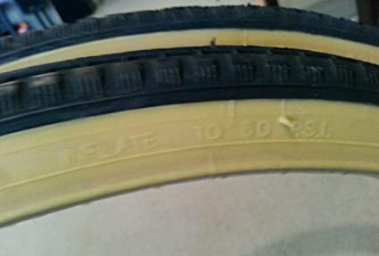 DURO BICYCLE TIRES 24X1/&3//8 TWO 2 ,GUMWALL NICE 37-540