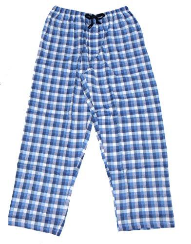 Mens Valentine Pajama Pants - IZOD Men's Microsanded Yarn-Dye Broadcloth Sleep