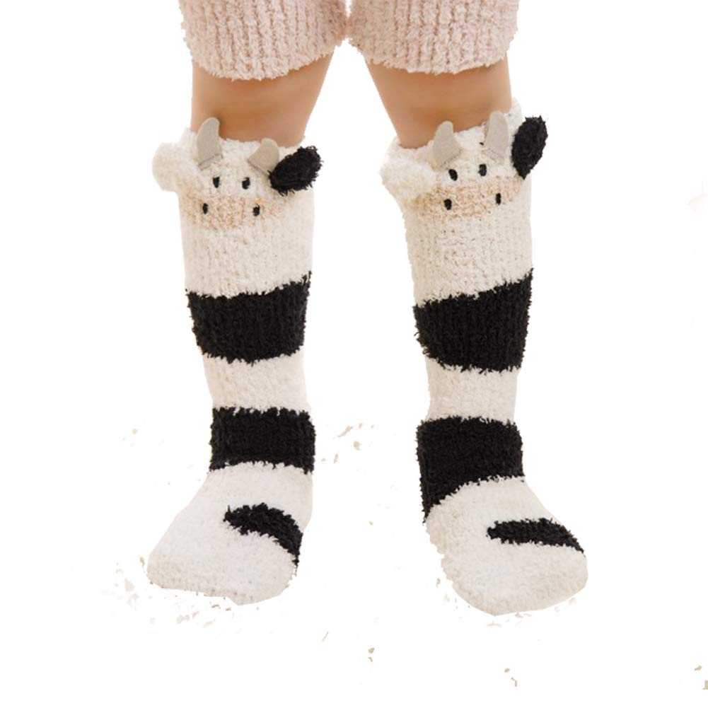 dkDaKanl Long Tube Baby Warm Winter Knee High Socks Unisex Newborn Toddler Socks Cartoon Design,12M-36M