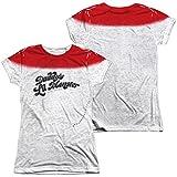 Juniors: Suicide Squad- Daddy'S Lil Monster Script (Front/Back) Juniors (Slim) T-Shirt Size XL