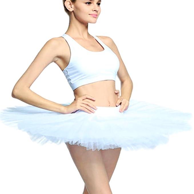 KAI,ROAD Adult Ballet Pancake Tutu Skirts for Women 8 Layers Ballerina  Costumes
