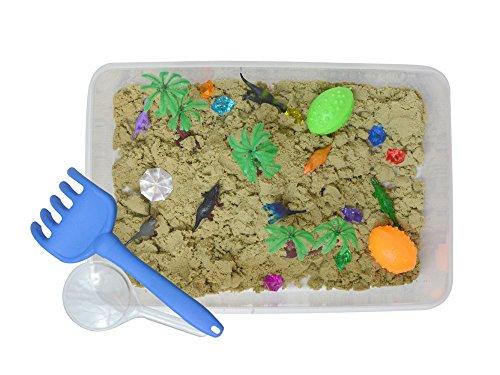 Discovery Box for Sensory Play - Dinosaur Theme