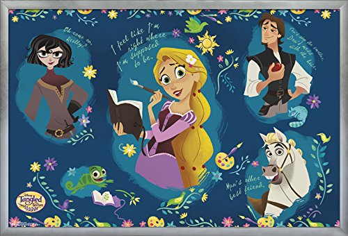 Trends International Tangled-Group Wall Poster, 24.25
