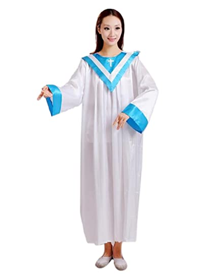 7c7b1a342d84d Unisex Priest Costume Pastor Christian Church Choir Robes Upgrade