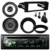 weather ex app - Pioneer DEH-X4900BT Bluetooth CD Stereo Audio Receiver - Bundle Combo With 2x Kenwood 6.5