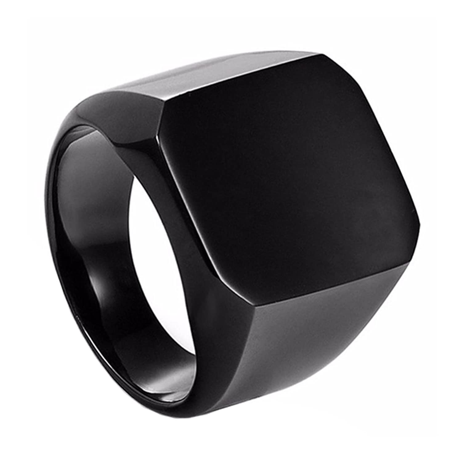 black wedding center tungsten carbide ring rings loading w raised band zoom
