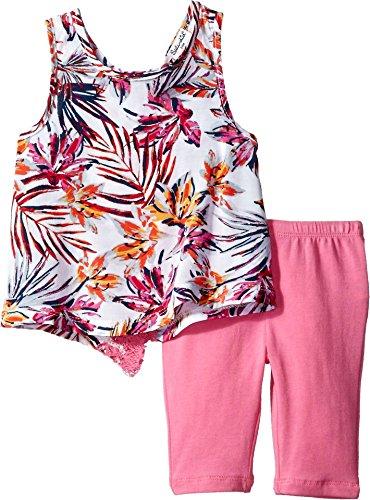 Splendid Baby Little Girls' Legging Set, Hot Pink, 3-6 MO (Littles Splendid Leggings)