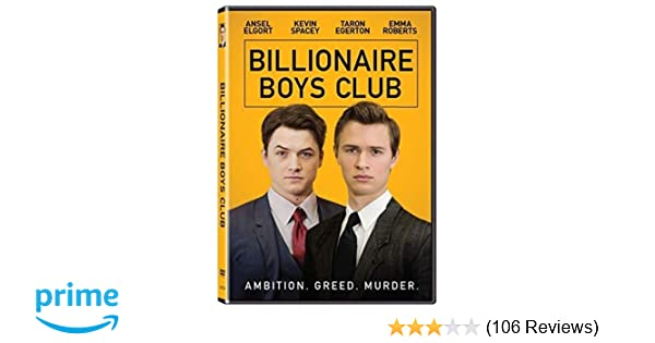 e14d2b419 Amazon.com: Billionaire Boys Club (2017): James Cox: Movies & TV