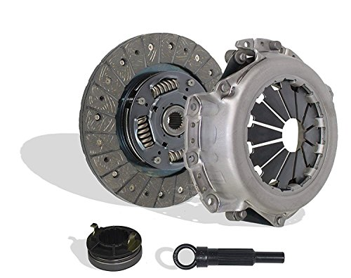 Clutch Kit Seco Works With Hyundai Accent Gl Gls L Se Sr Gt Base Sedan Hatchback 2001-2008 1.6L L4 GAS DOHC Naturally Aspirated
