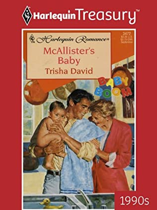 book cover of McAllister\'s Baby