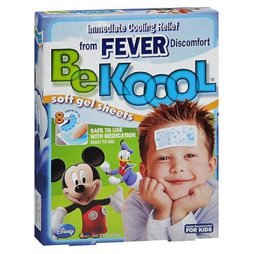 Be Koool Soft Gel Sheets for Kids 4 Each (Pack of 12) Be Koool Gel Sheets