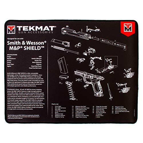 TekMat Ultra Mat for use with S&W M&P Shield