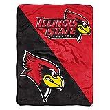 "Illinois State Redbirds ""Halftone"" Micro Raschel"
