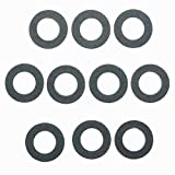 Eaglerich Set of 10 Engine Oil Drain Plug Seal Gasket Rings Washer 90430-12031 For TOYOTA