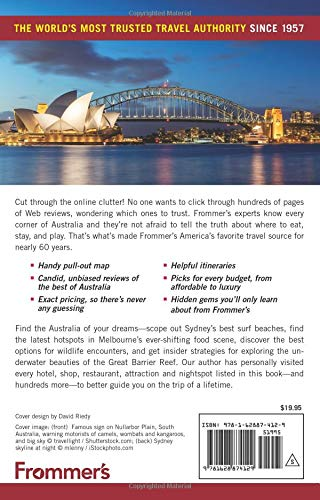 Frommer's Australia 2019 (Complete Guide) - 51 p23GoJDL - Getting Down Under