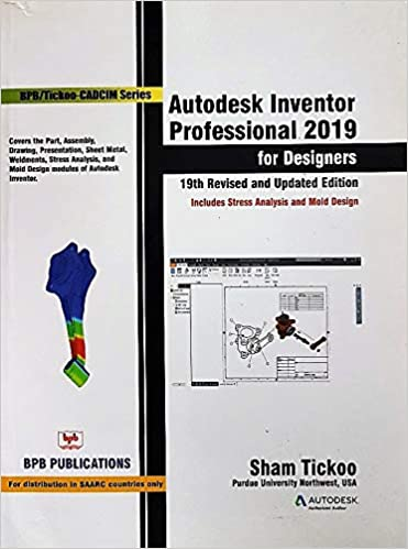 Buy Autodesk Inventor Professional 2019 :for designers Book