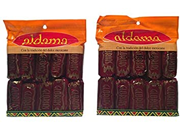 Aldama Glorias Mexican Candy - Dulce de Leche, 10 Count 10.5 oz Each (Pack
