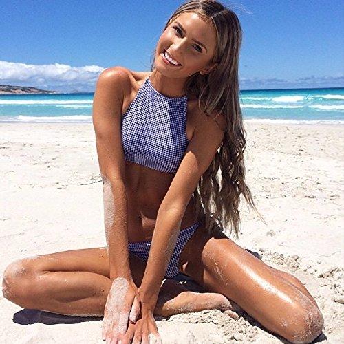 YUPE Hot spring Badeanzug Bikini 3-teiliges Sommer modische Strand Ferienhäuser Badeanzug weiblichen ?M Größe?