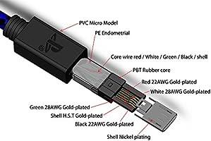 PS4 Cable del cargador del controlador - Cable de carga ...