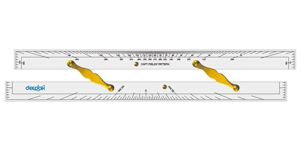 LINOGRAPH Barre De Navigation Parallèle De D'Épaisseur De 6 Mm avec des Liens en Laiton