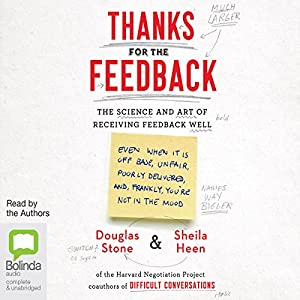 Thanks for the Feedback Audiobook