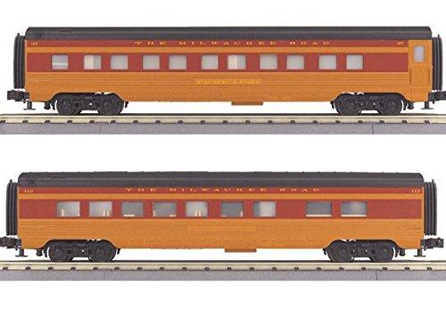MILW 2 CAR 60' STREAMLINE SET - Streamline 60 Passenger Set