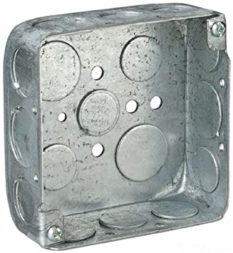 Amazon.com: Acero City 52151 – 1/2 – 3/4 pre-galvanized Caja ...