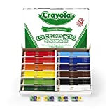 Crayola 240 Coloured Pencils Classpack, 12 Colors