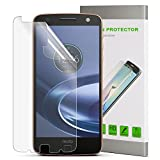 SPARIN [2 PACK] Moto Z Force Droid Screen Protector, High Definition PET Screen Protector for Lenovo Moto Z Force 0.15mm [Easy Installation] [Bubble Free] [Anti-Scratch]