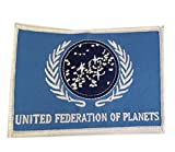 united federation planets - Peaceomind Star Trek TNG United Federation of Planets UFP Flag Embroidered Iron On Patch