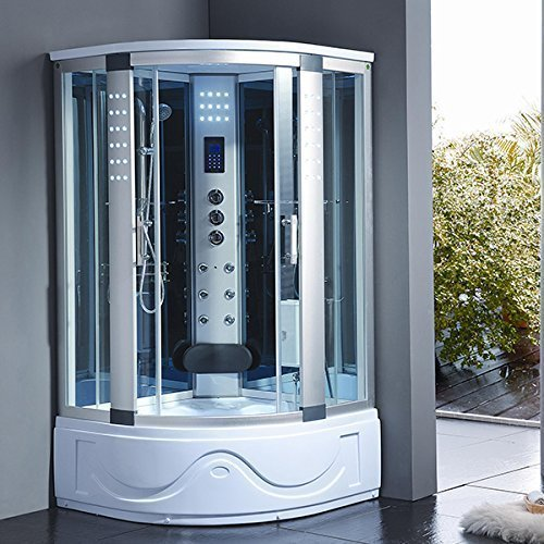 Bath Masters 8002-A Spa Steam Shower Enclosure unit with 3kw
