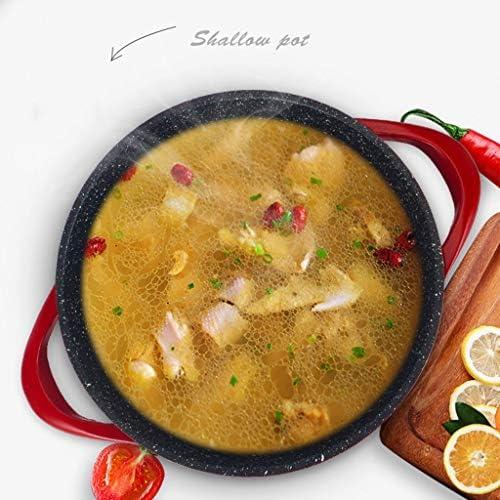 11 pouces antiadhésif Grande marmite à soupe et salade Bowl Grand Bowl for vacances, Dîner et soirée