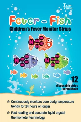 Fever-Fish Children's Fever Monitor Strips